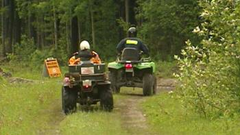 Search and Rescue crews begin searching for sign of Lyle and Marie McCann Sunday, June 26, 2011.