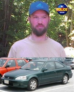 The man, Christopher SEARGENT, was last seen at a residence on the 2000 block of Arden road in Courtenay.