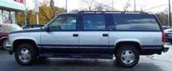 photo of similiary vehicle driven by missing person